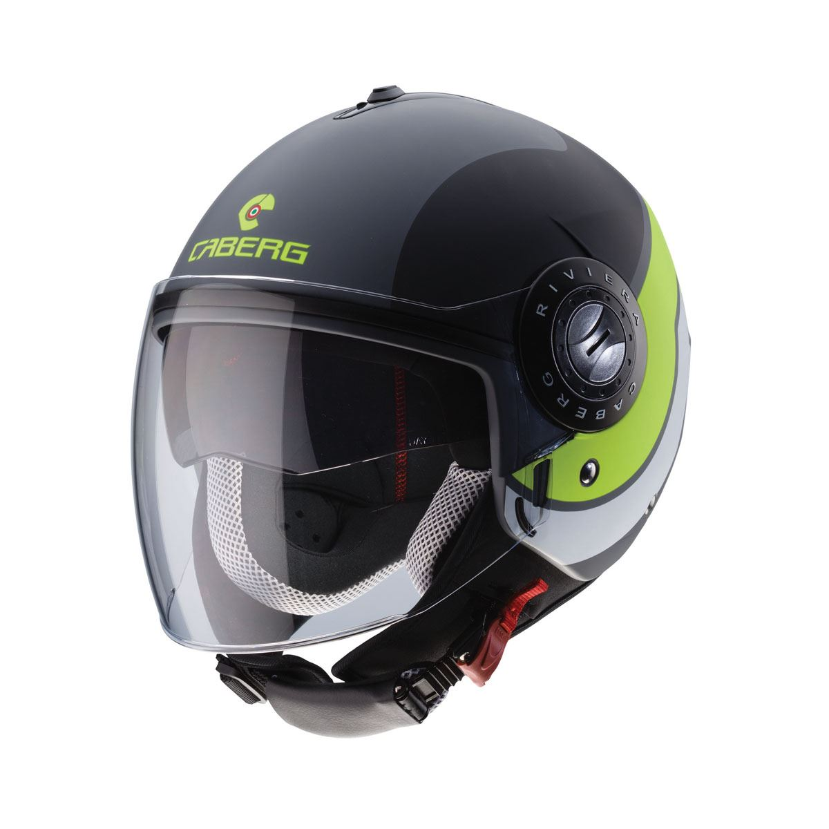Caberg-Riviera-Open-Jet-Face-Motorcycle-Scooter-Ventilated-Helmet thumbnail 2