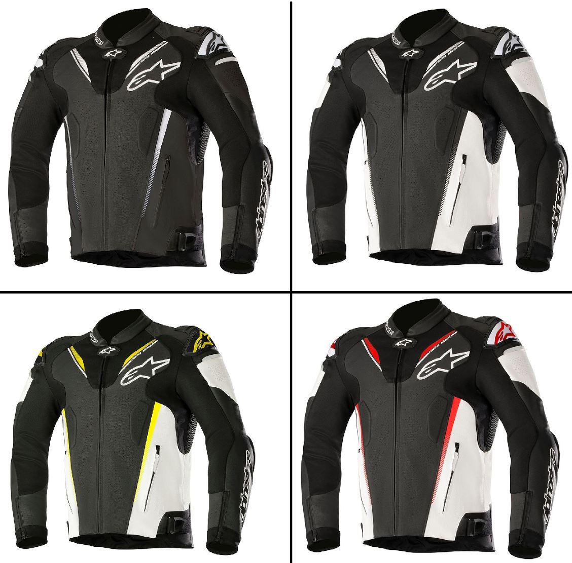 Alpinestars Leather Jacket >> Alpinestars Atem V3 Leather Jacket For Motorcycle Motorbike Ebay