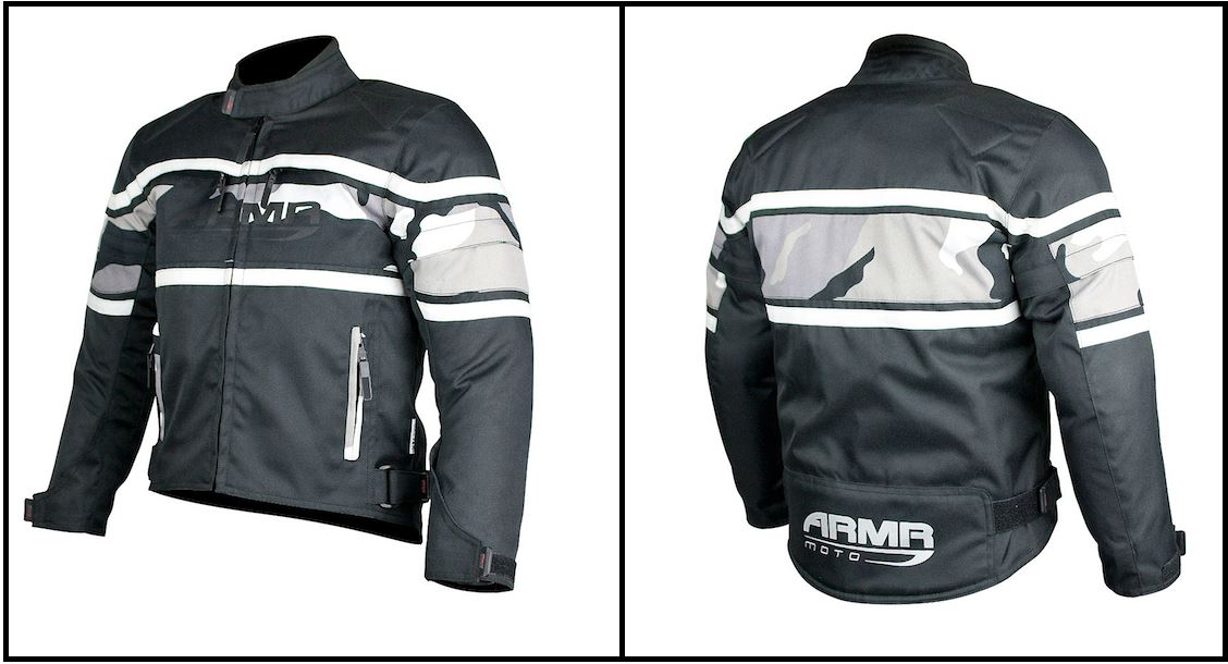 Details about Tri-Motive Motorcycle Bike ARMR Polytec Fabric Height  Adjustable Kids Jacket
