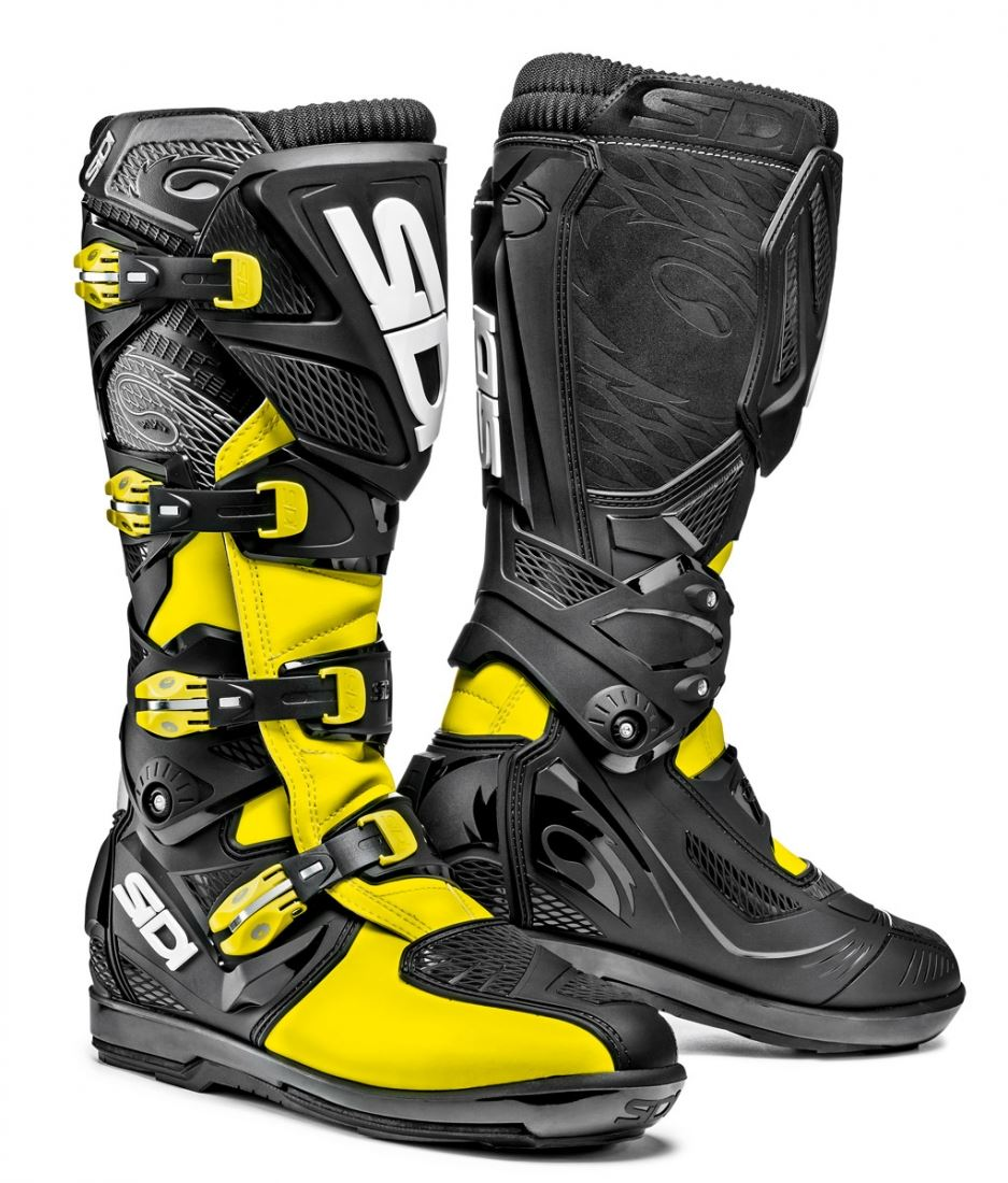 Sidi-X3-Xtreme-SRS-Off-Road-Moto-Motocicleta-botas-de-suela-de-NYLON miniatura 5
