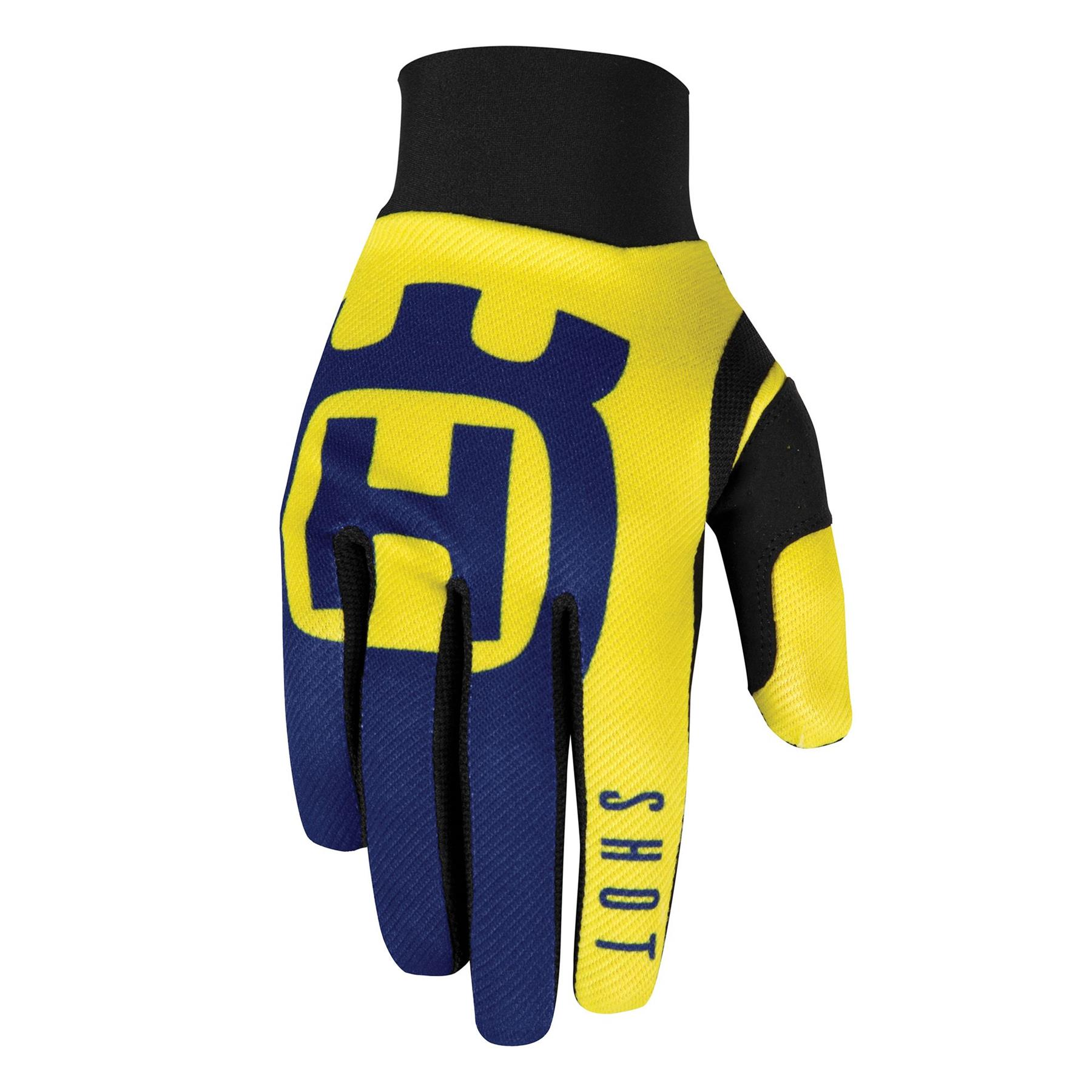 Shot Aerolite Husqvarna Motocross Handschuhe 10