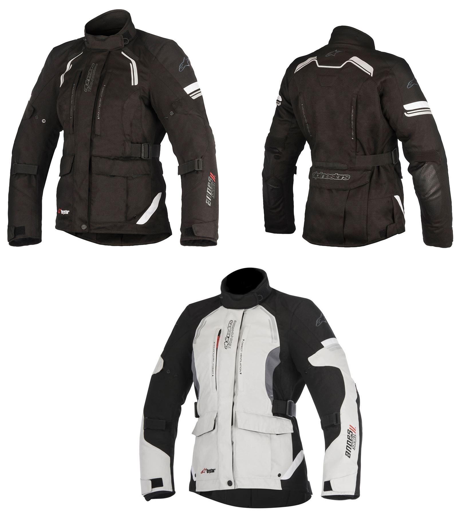 Alpinestars/ /Moto Chaquetas Ande V2/Drystar Negro