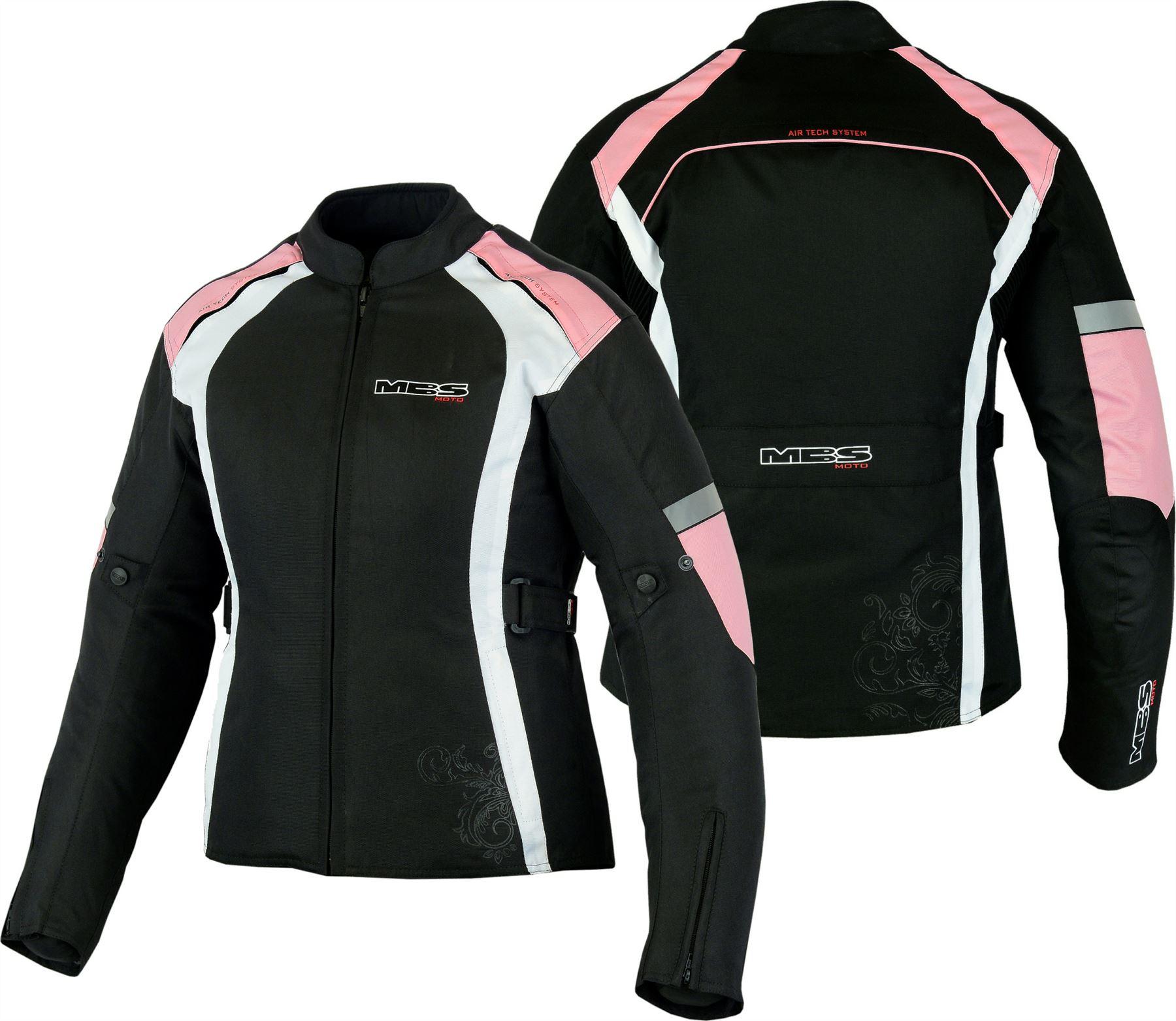 Moto-Femmes-Impermeable-Textile-Touring-Aeration-Veste-Renforcee