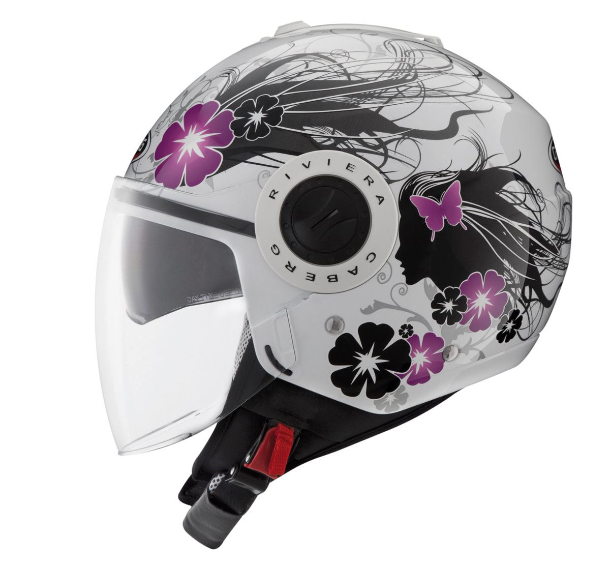 Caberg-Riviera-Open-Jet-Face-Motorcycle-Scooter-Ventilated-Helmet thumbnail 8