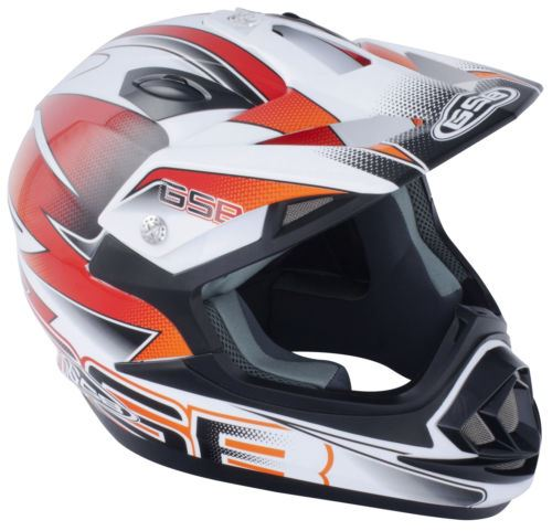 GSPB-XP-14B-Motocross-Adult-Off-Road-MX-Quad-ATV-Helmet thumbnail 5