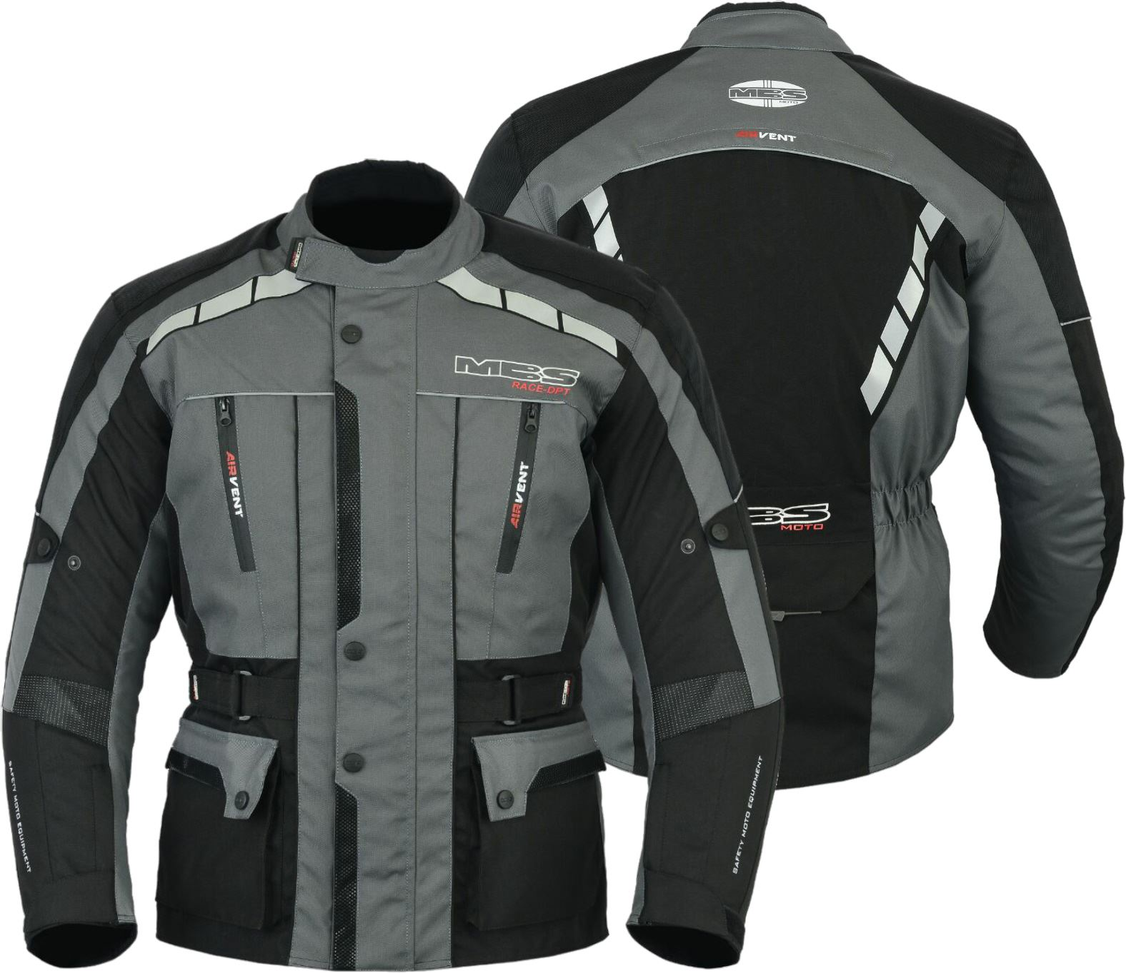 Armour-safety-motorcycle-motorbike-scooter-waterproof-textile-jacket-ANT