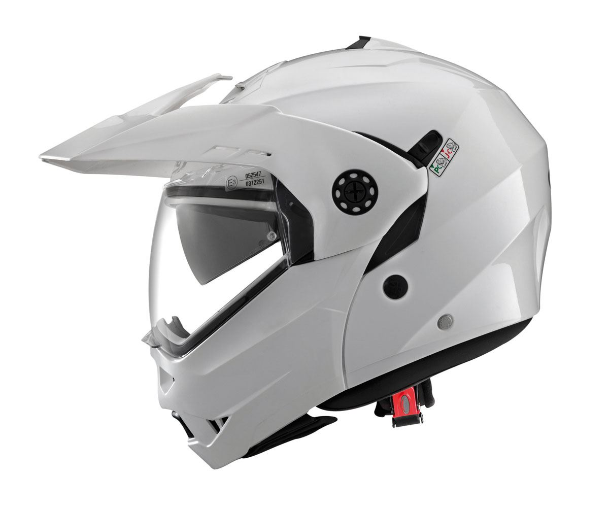Caberg Tourmax Metal White Motorcycle Helmet 529465 Xs For Sale