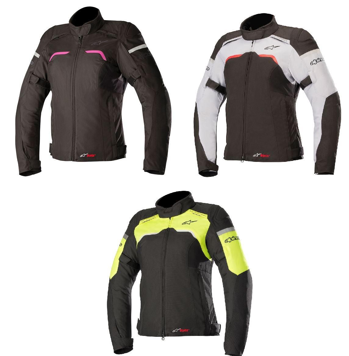b5475080a63 Alpinestars Stella Drystar hiper textil chaqueta forro térmico desmontable  del montar a caballo