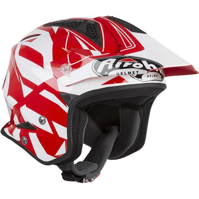 Airoh trrsc55/TRR s Convert Red Gloss L