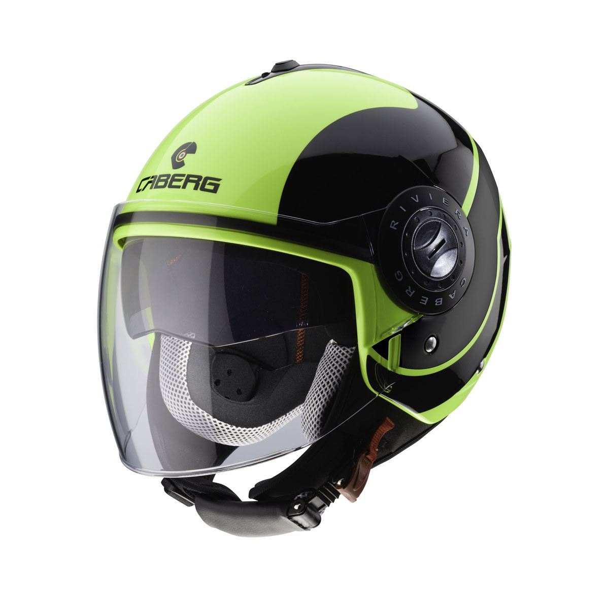Caberg-Riviera-Open-Jet-Face-Motorcycle-Scooter-Ventilated-Helmet thumbnail 4