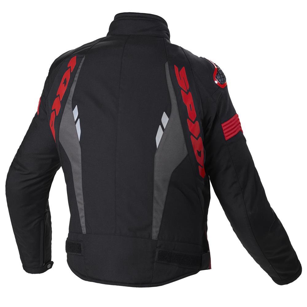 Spidi-H2Out-Warrior-Sports-Motorcycle-Motorbike-CE-Certified-Men-039-s-Jacket miniature 4