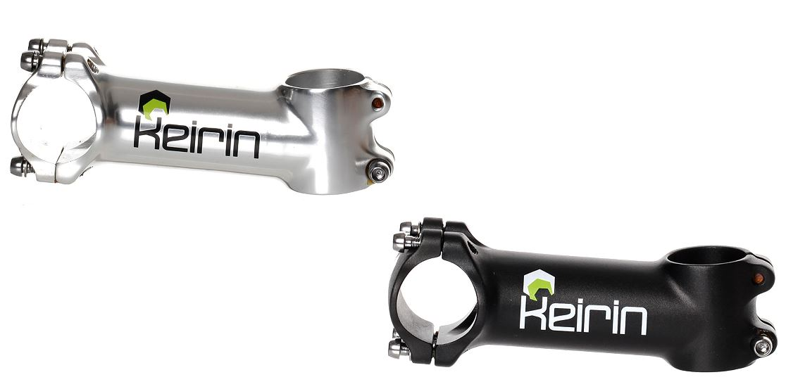 """Bikeit Cycle//Bicycle Keirin Adjustable Quill Stem 1 1//8/"""" 9cm Standard Headset"""