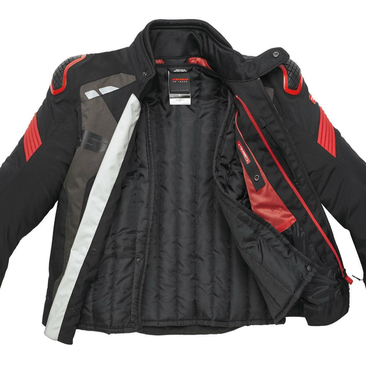 Spidi-H2Out-Warrior-Sports-Motorcycle-Motorbike-CE-Certified-Men-039-s-Jacket miniature 5
