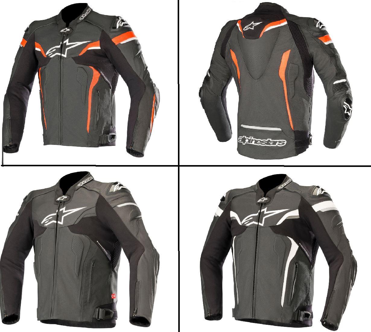 Details about Alpinestars Celer v2 Leather Riding Motorcycle Bike Waterproof Jacket