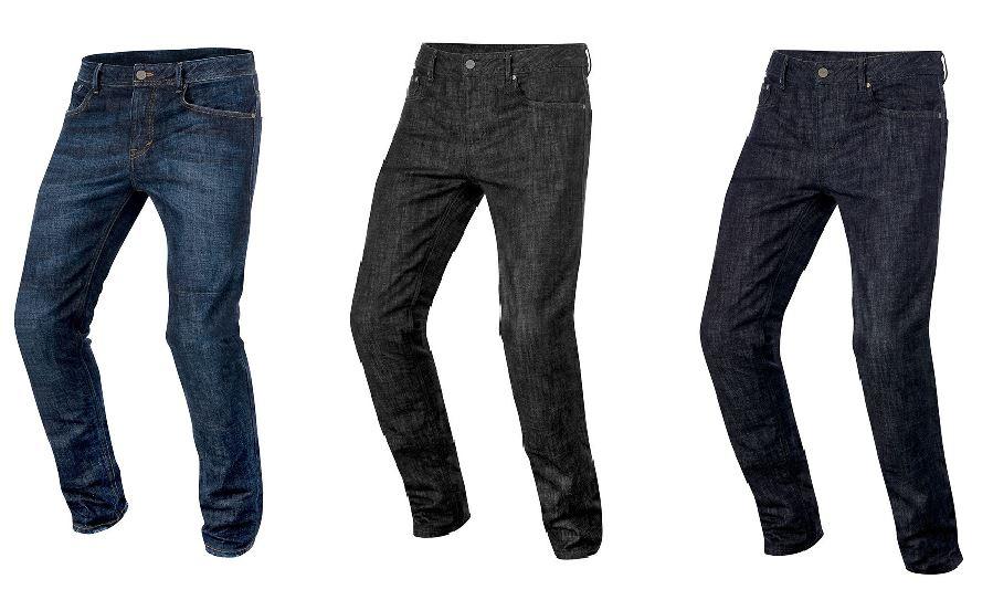 Alpinestars Jeans in rame con Hip Pad Pad Pad Protettore Per Motocicletta Moto 76aaeb