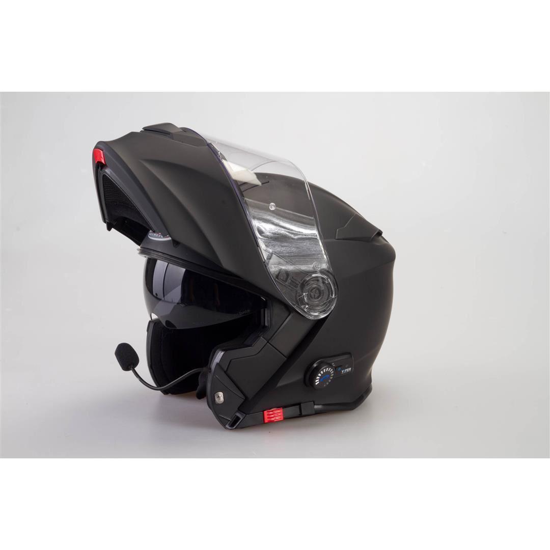 VIPER-RS-V171-FLIP-UP-MOTORCYCLE-MOTORBIKE-SCOOTER-BLUETOOTH-BLINC-RACING-HELMET