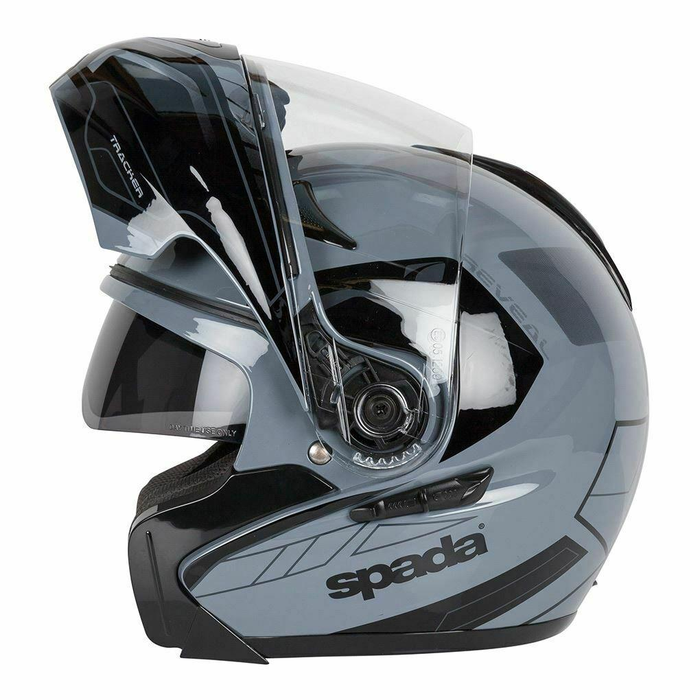 Spada Reveal Flip Front Motorcycle Motorbike Modular Helmet Flip-Up Crash Lid