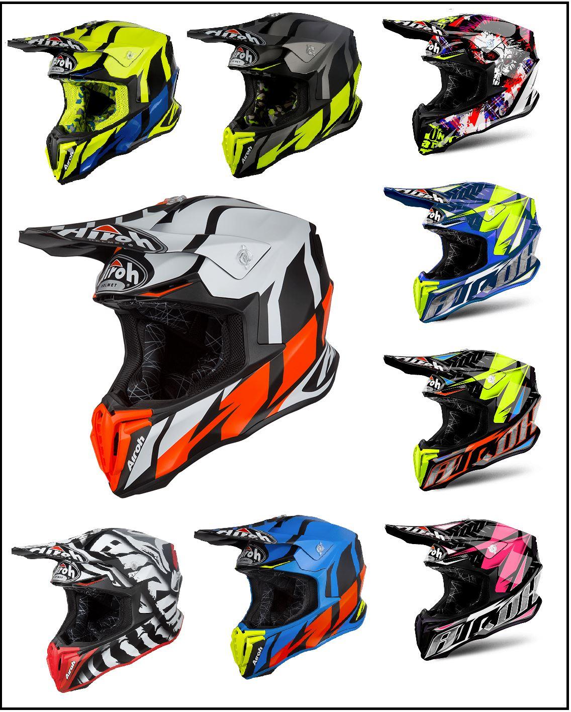 Legend Special Order All Sizes Airoh Helmets Twist Unisex Helmet Moto