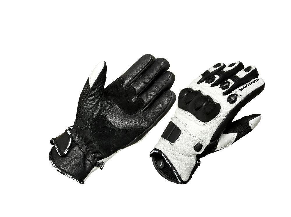 Guanti protettivi in pelle per motociclette scooter e moto sportive