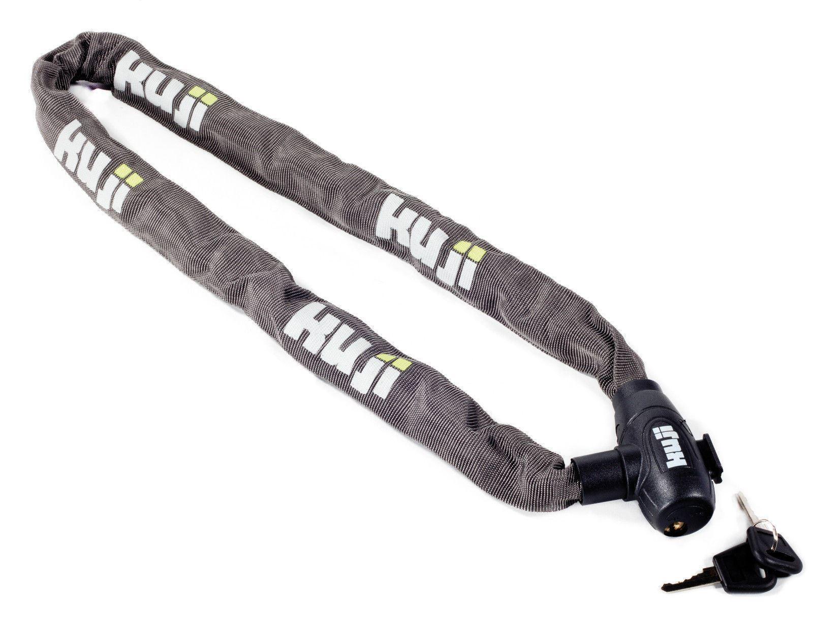 Mountain Bike MTB Bicycle Chain Lock 6.3mm x 1000mm Toughened steel with Bracket
