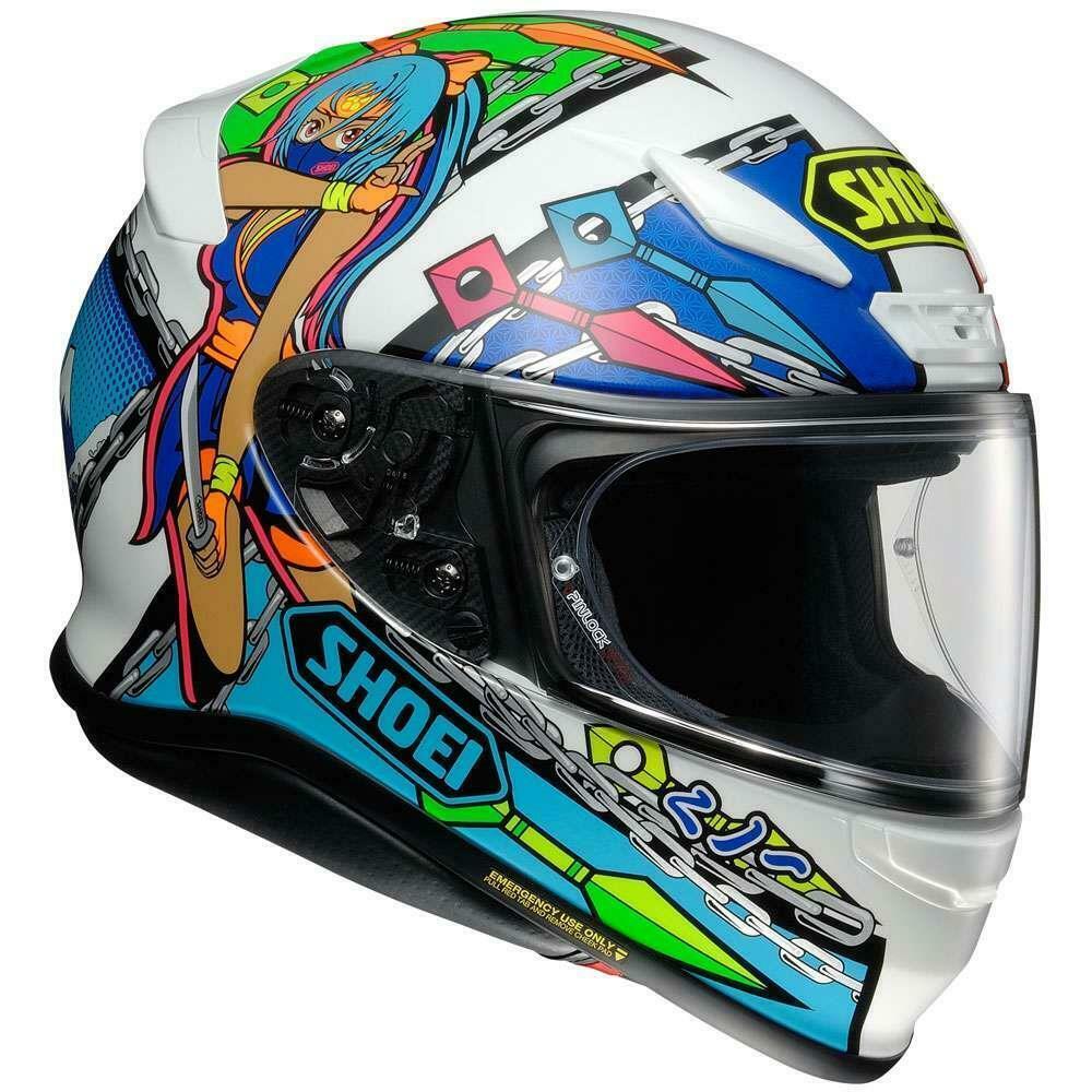 Shoei-NXR-Full-Face-Motorcycle-Motorbike-Premium-Helmet-RF-1200 thumbnail 32