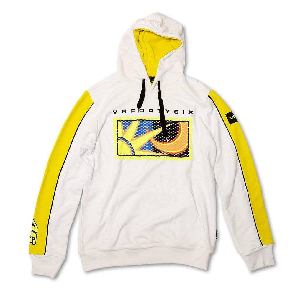 YDMFL 272109 Casual Yamaha clothing VR46 Rossi Yamaha Men/'s Sweatshirt