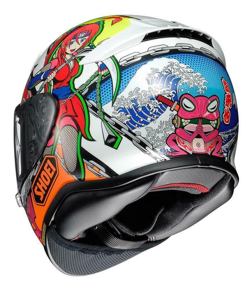 Shoei-NXR-Full-Face-Motorcycle-Motorbike-Premium-Helmet-RF-1200 thumbnail 33