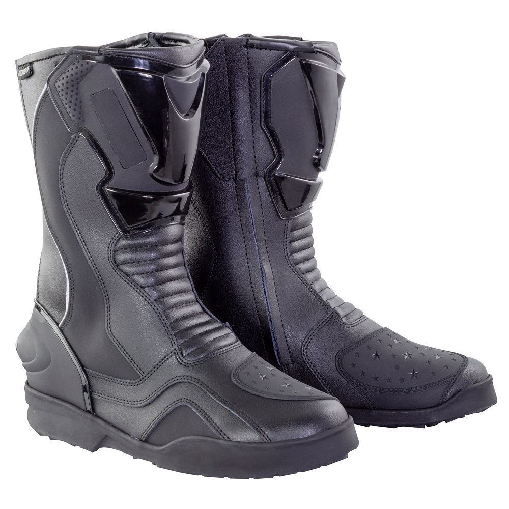 Bikeit-Moto-Moto-039-Adhesivo-039-Completo-Road-Maletero-Negro miniatura 3