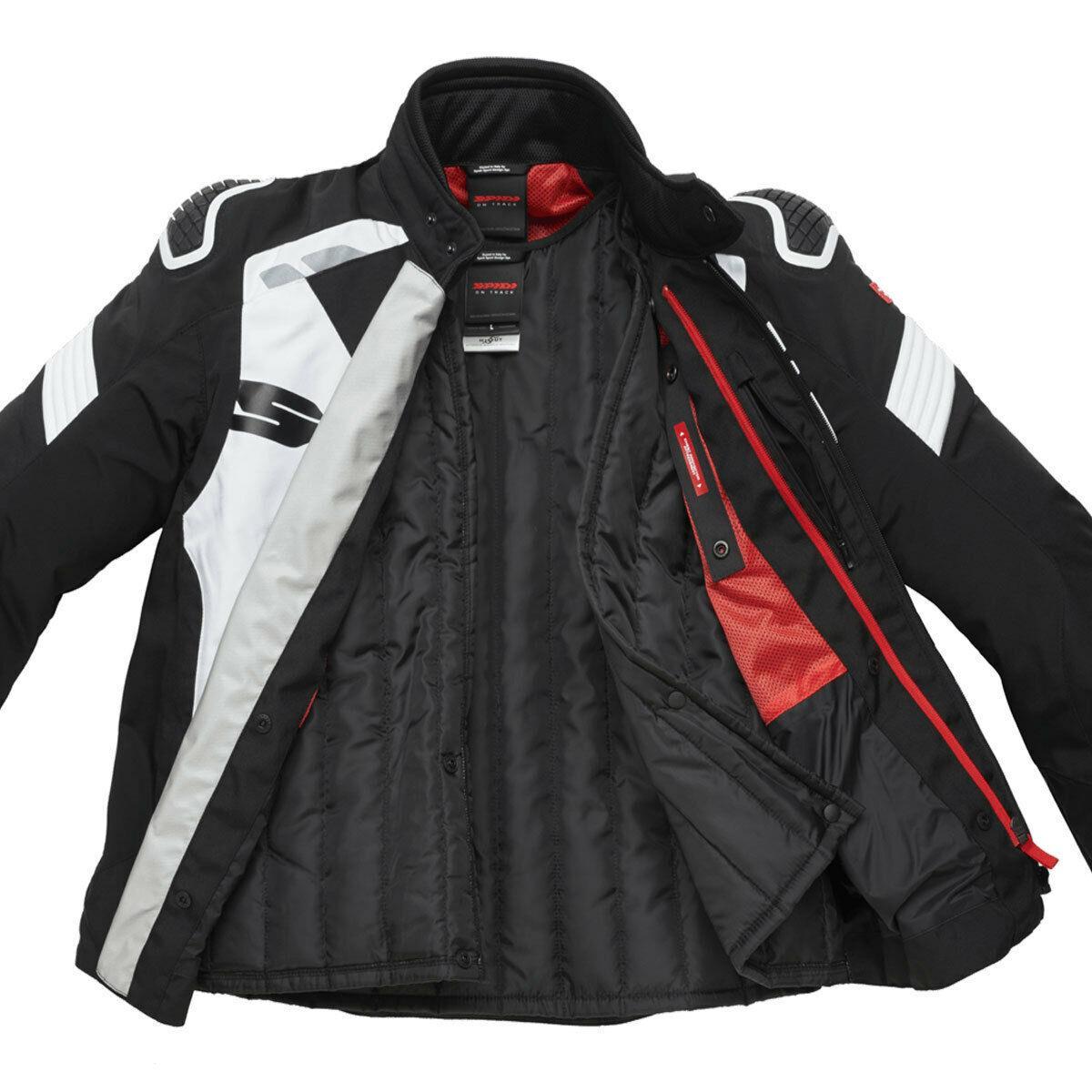 Spidi-H2Out-Warrior-Sports-Motorcycle-Motorbike-CE-Certified-Men-039-s-Jacket miniature 8