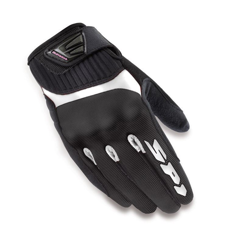Spidi-Motorcycle-Bike-Clarino-Microfibre-Vented-Insert-Ladies-Gloves thumbnail 5