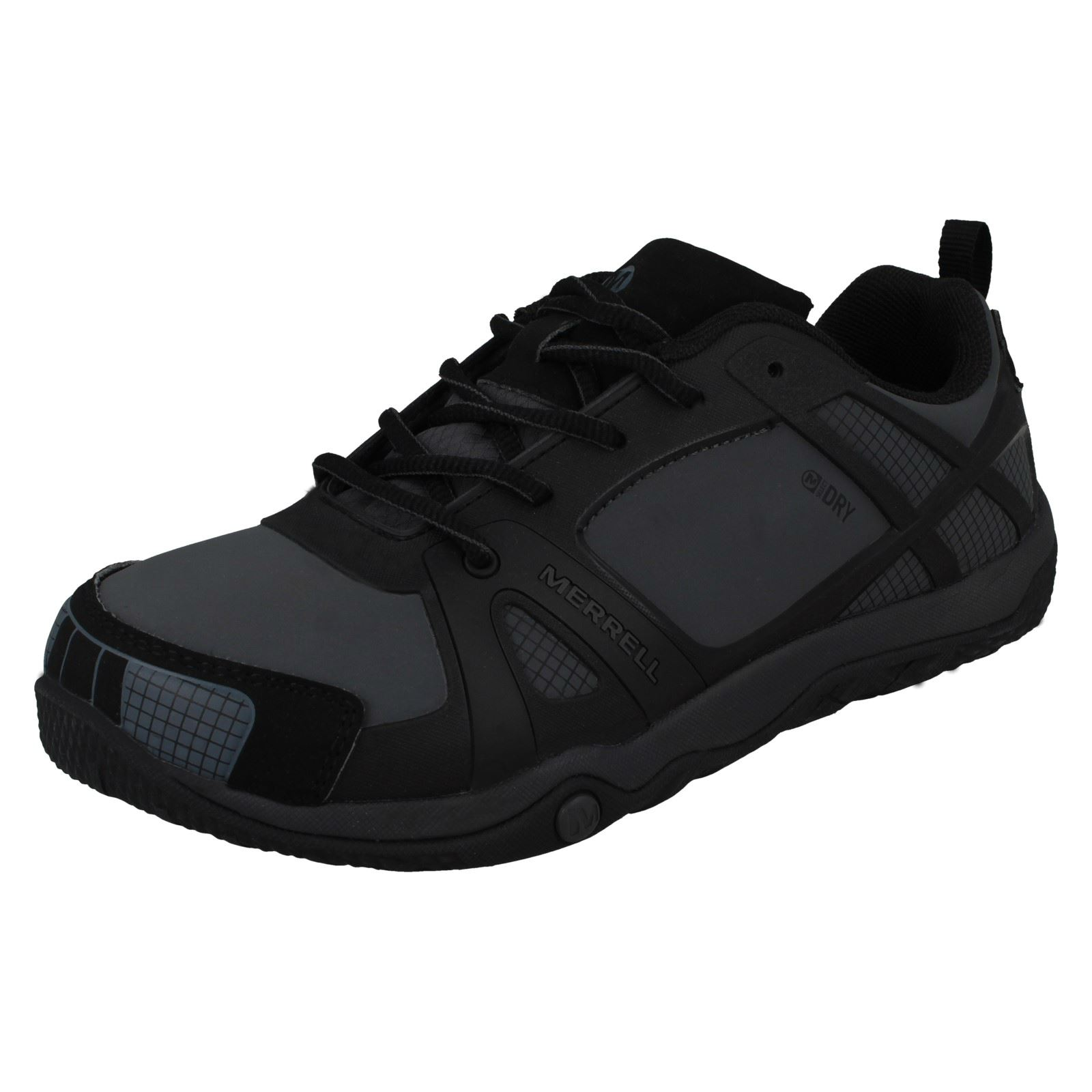 2d2d0456 Details about Boys Merrell Casual Trainers 'Proterra Waterproof Kids J95463'
