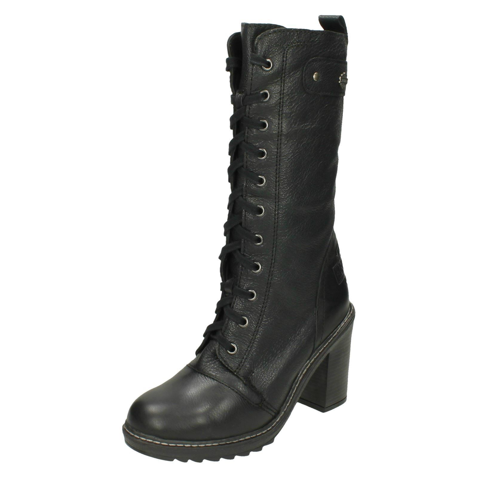 Ladies-Harley-Davidson-Heeled-Leather-Boots-039-Lunsford-039