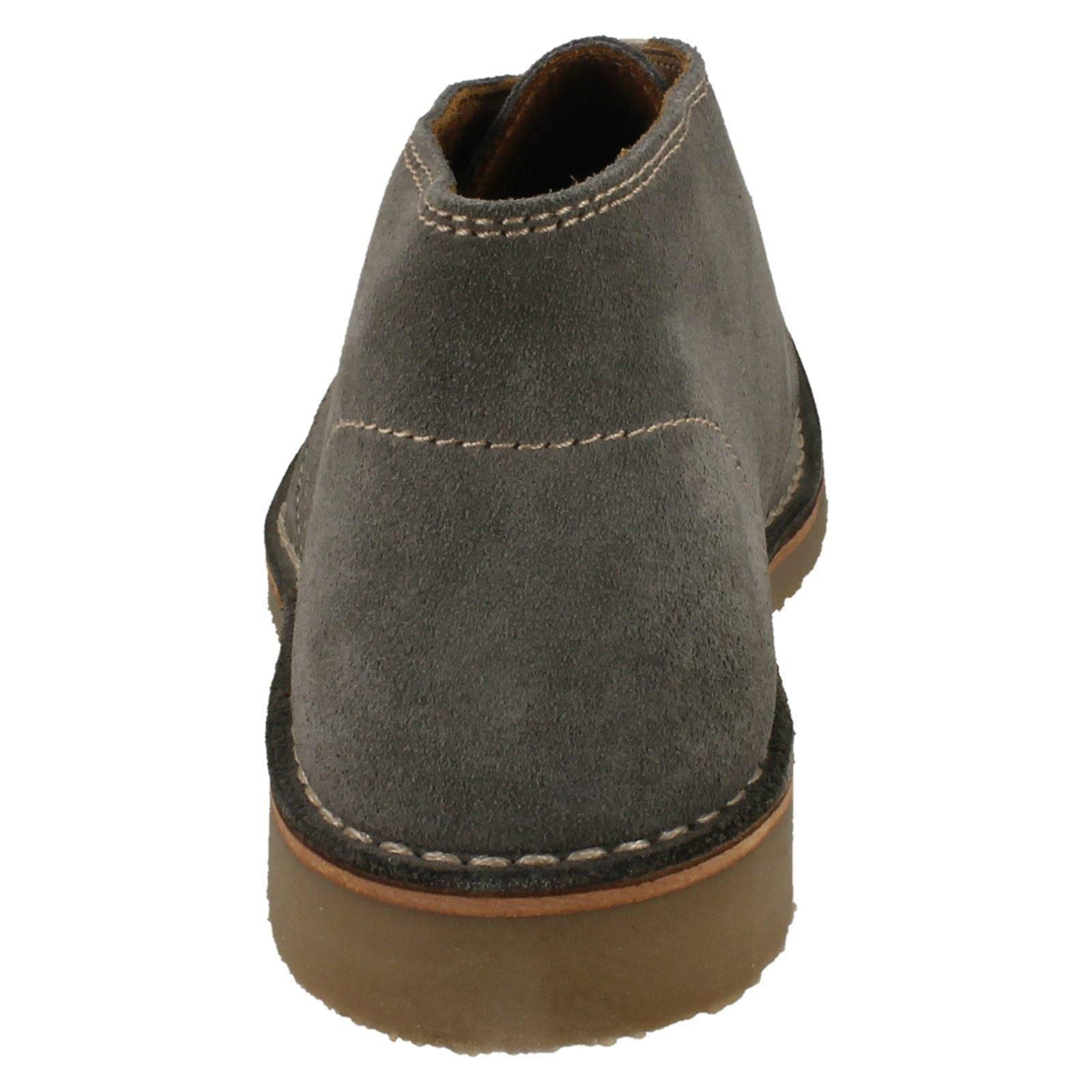 Mens Loake Desert Style Suede Boots Kalahari