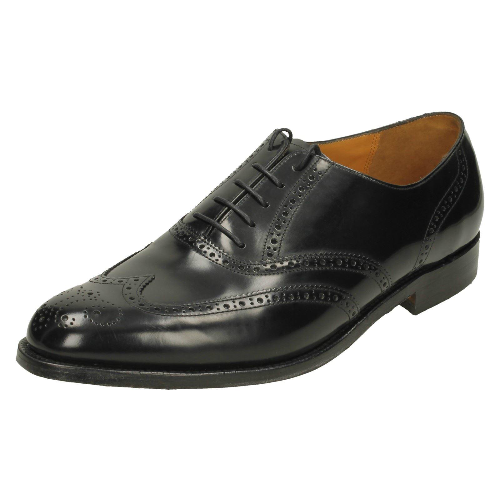 cf1aa999037 Mens Barker Brogue Style Shoes  Albert