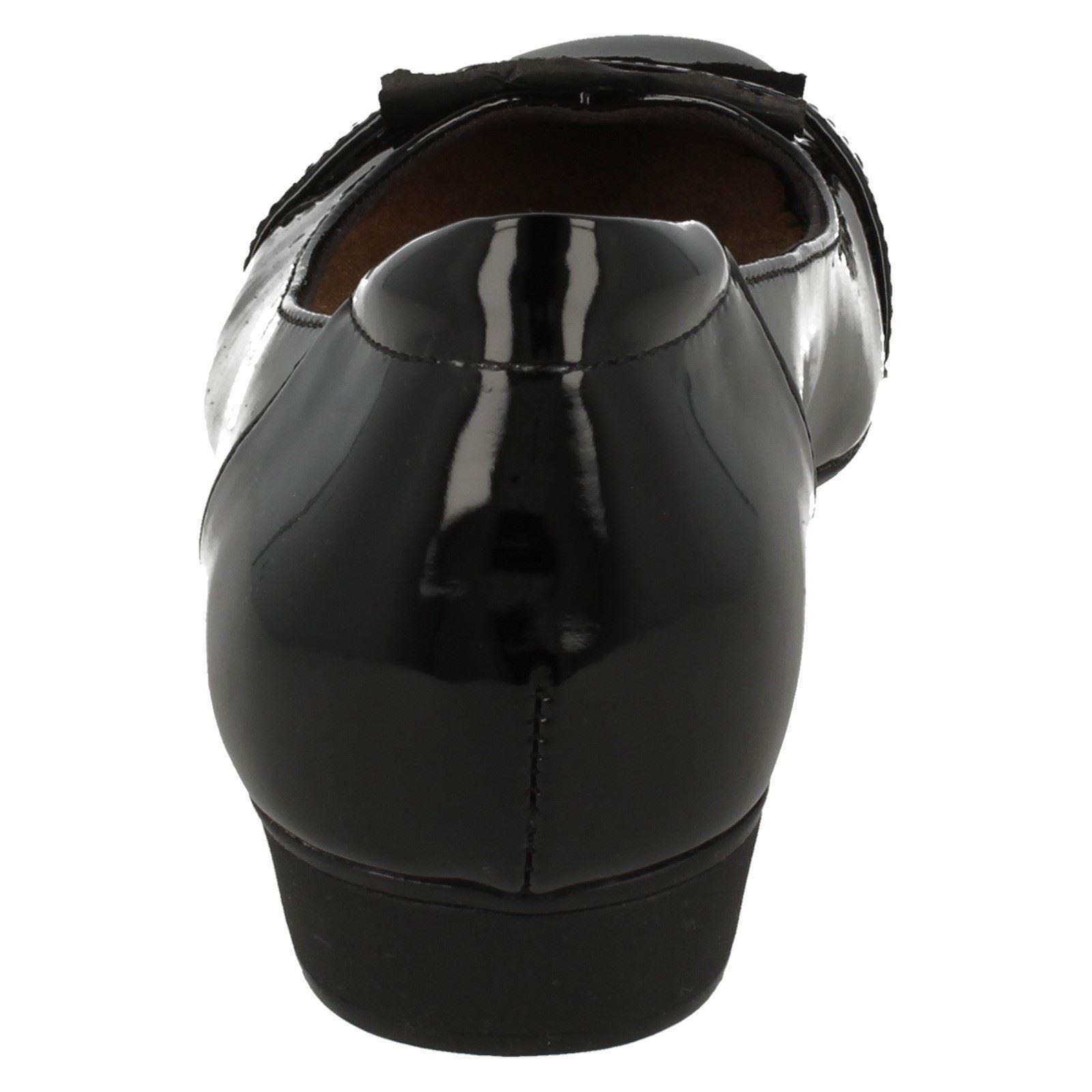 'blanche Ladies Clarks West' Smart Shoes Slip On qq1BvSw