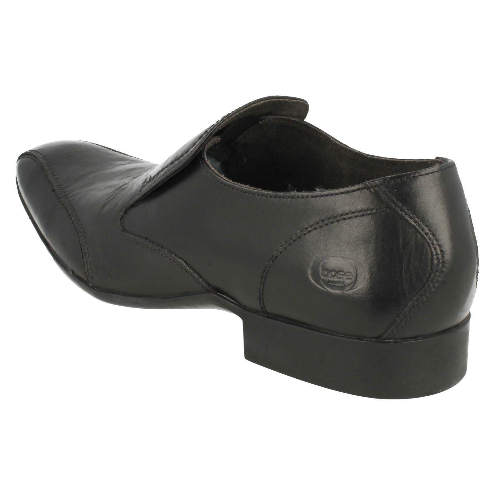 Mens Base London Slip On Shoes Hollow