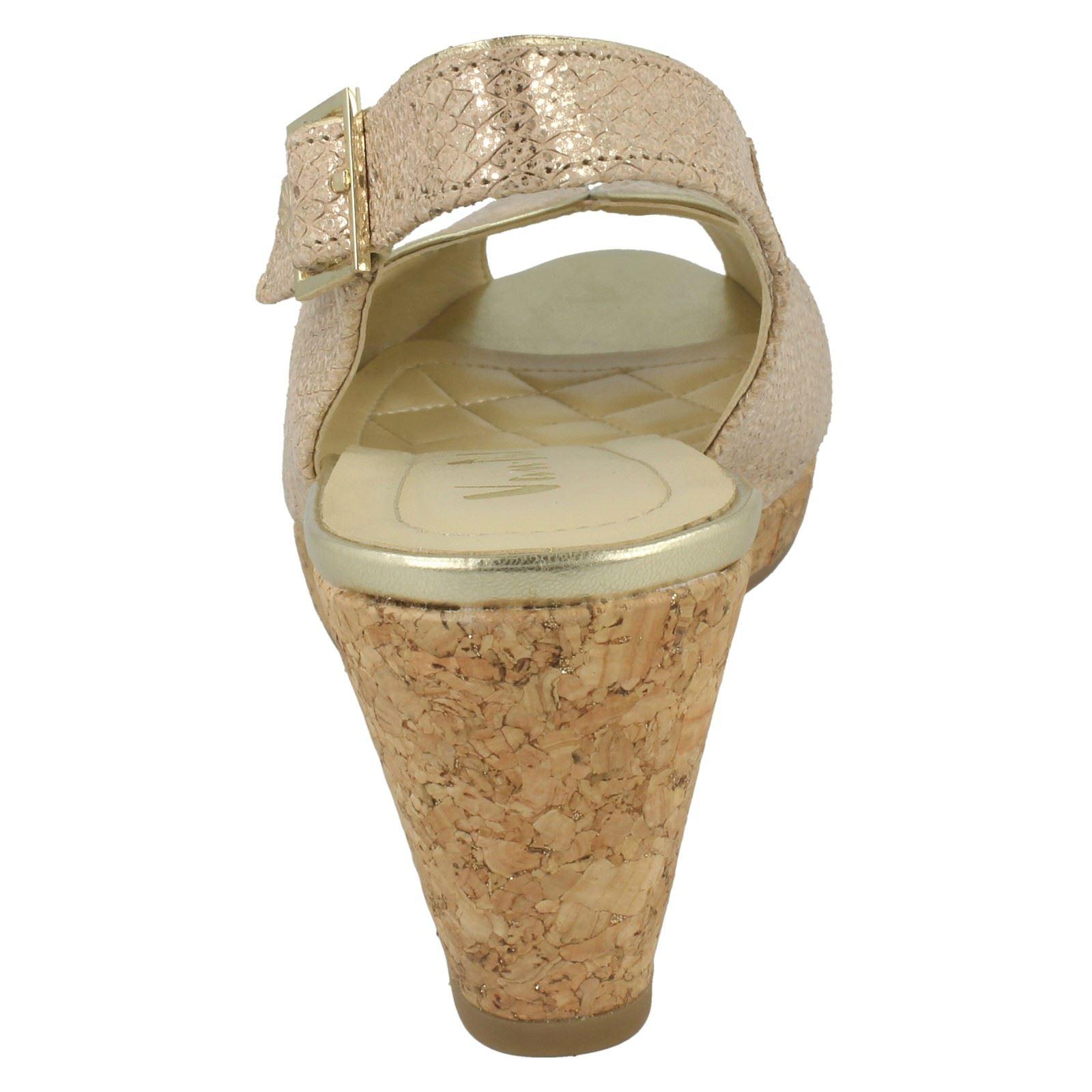 Ladies-Van-Dal-Cork-Wedge-Sandals-Gable thumbnail 4