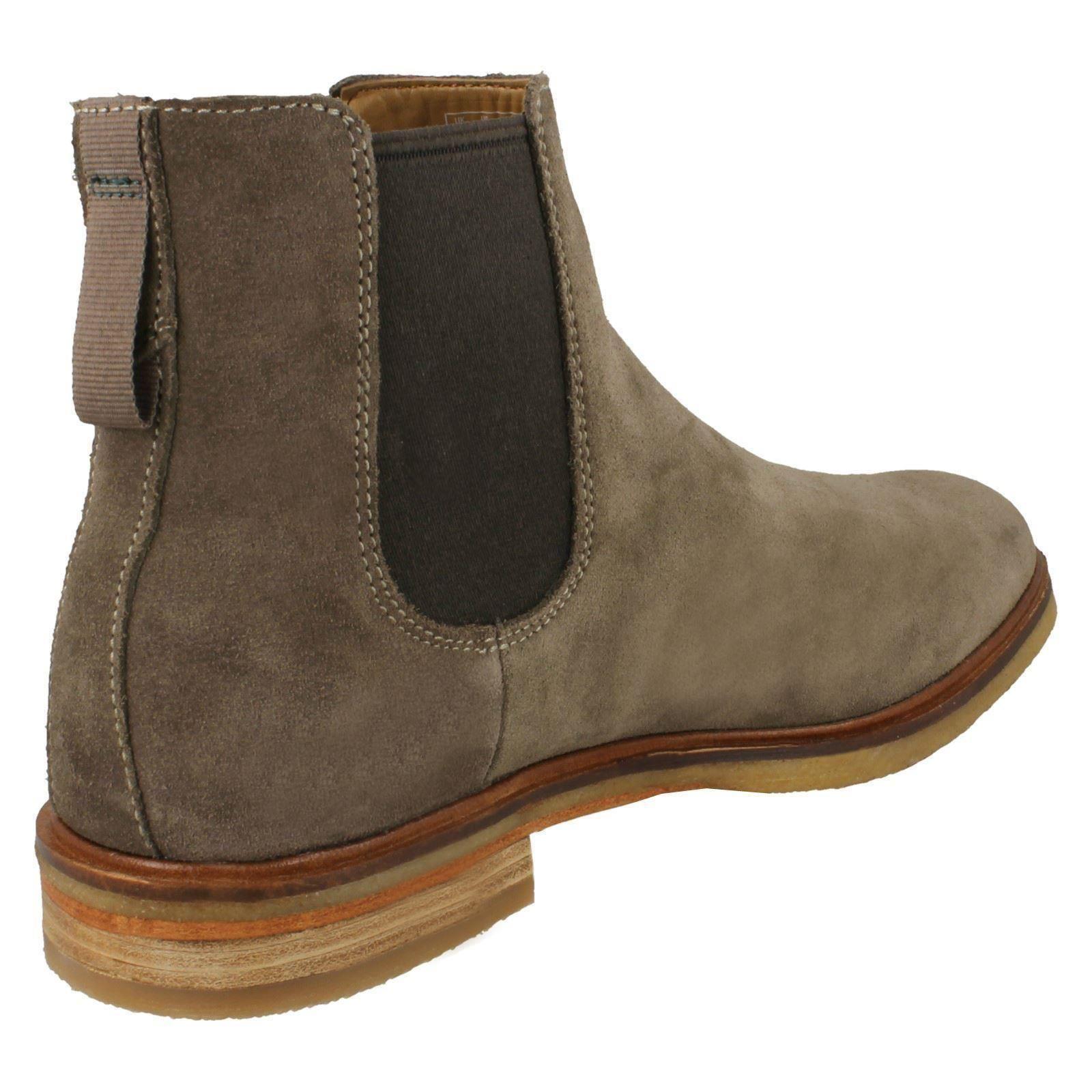 viele möglichkeiten am besten bewertet neuesten große Auswahl an Farben und Designs Details about Mens Clarks Chelsea Boots 'Clarkdale Gobi'