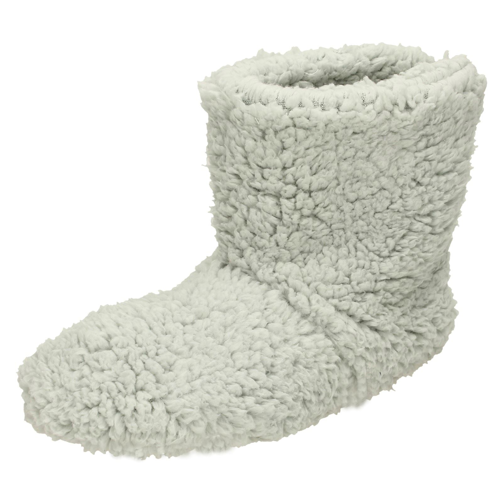 Ladies Eaze Fluffy Boot 'Slippers'   eBay
