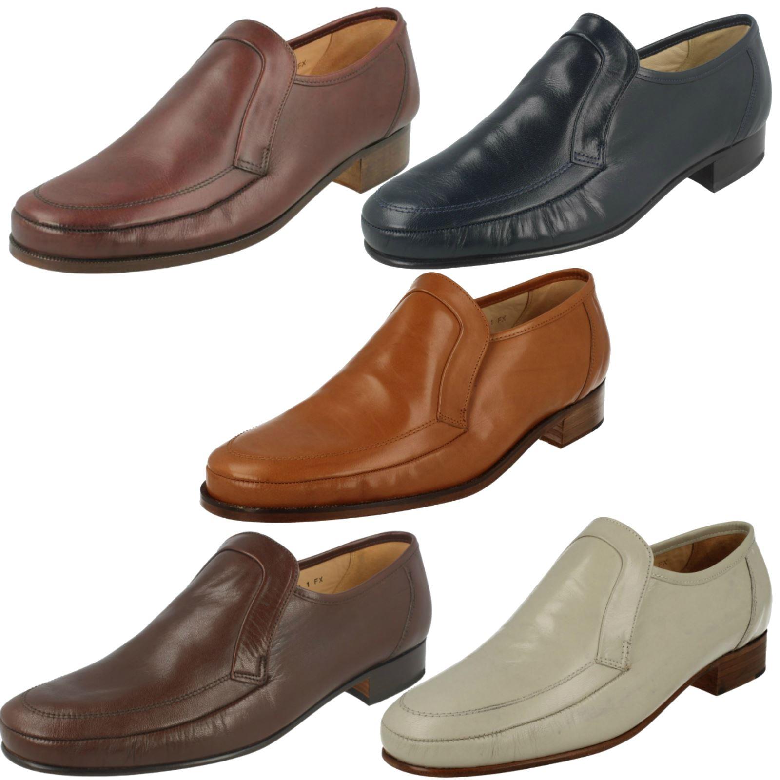 Mens Grenson Slip On Formal Shoes