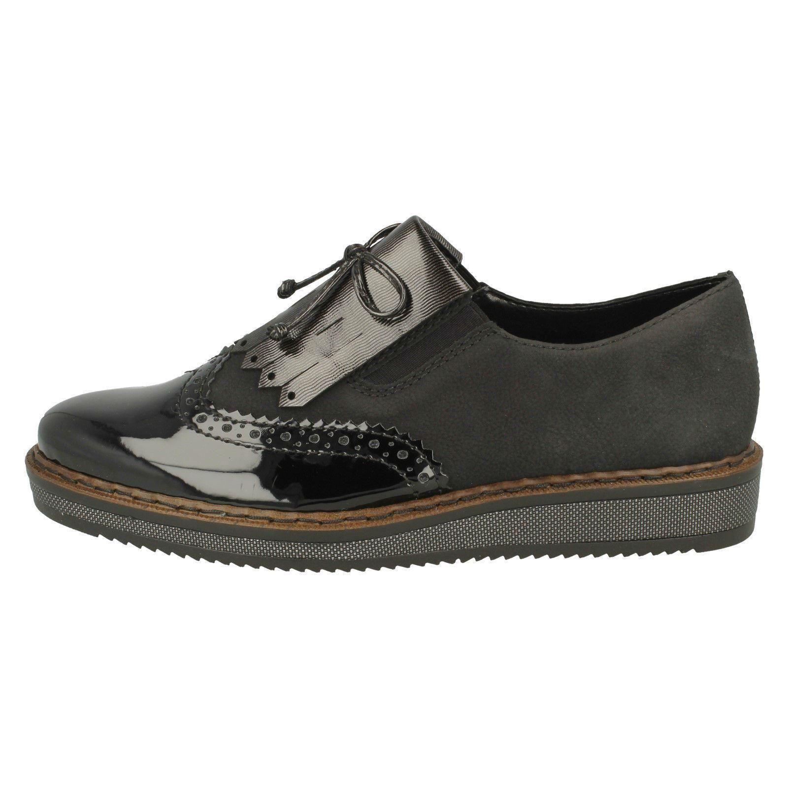 Chaussures N0372 Détails Mocassins Femmes Inspiré Sur Rieker Yf7vgyb6