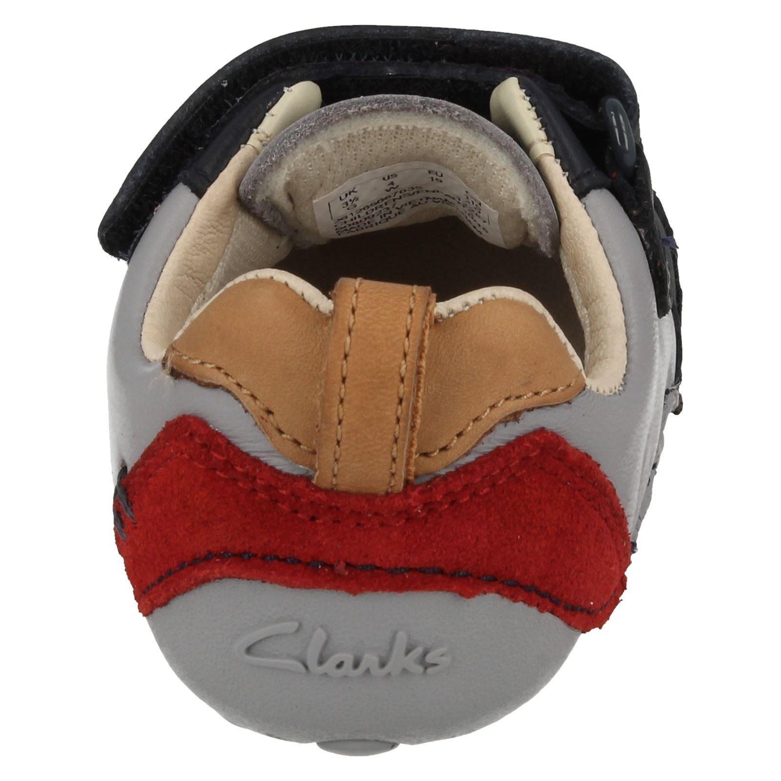 Clarks Boys First Cruisers - Tiny Cap