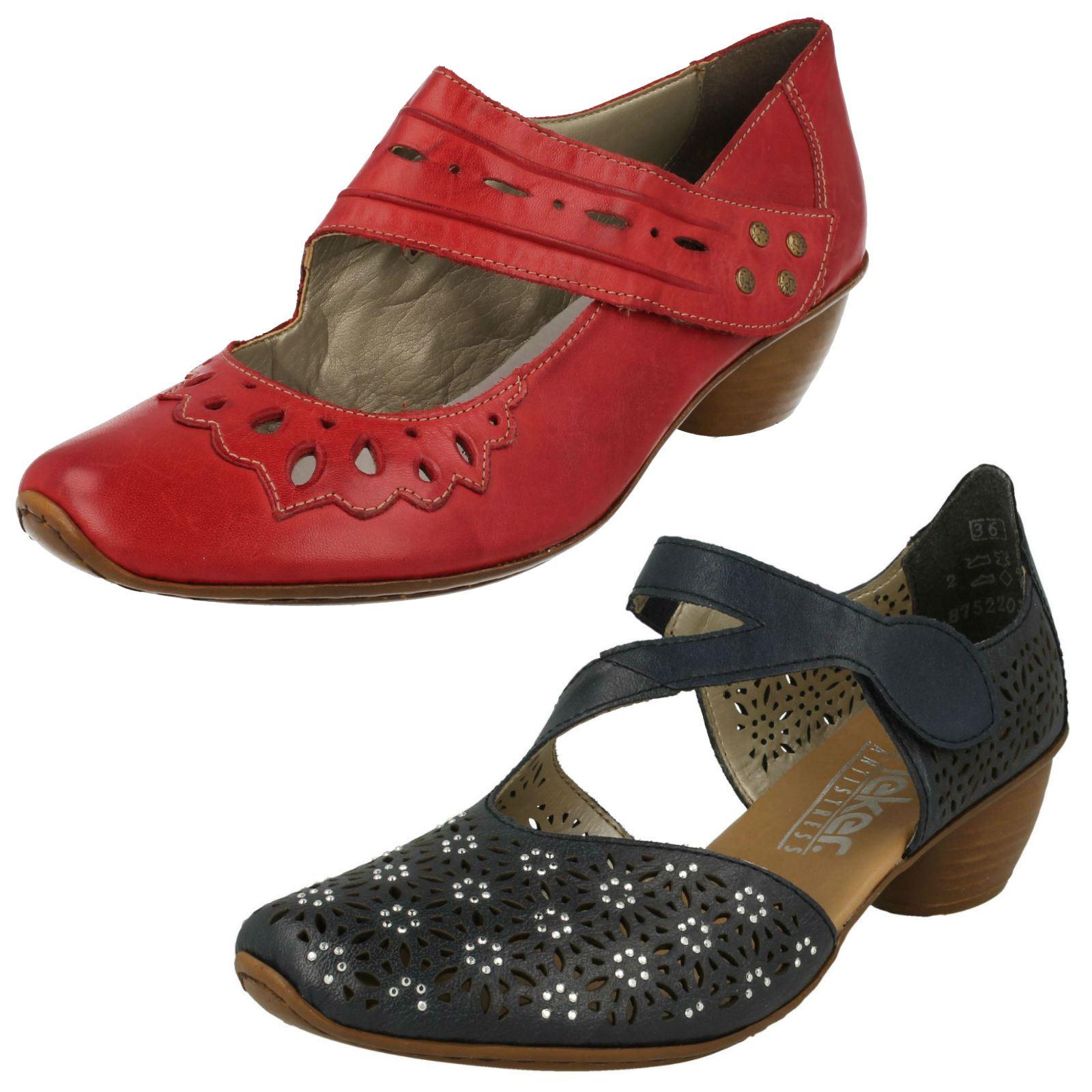 Damen Rieker Freizeit niedrig Absatz Schuhe  13346m   eBay d8a2fc3e9e