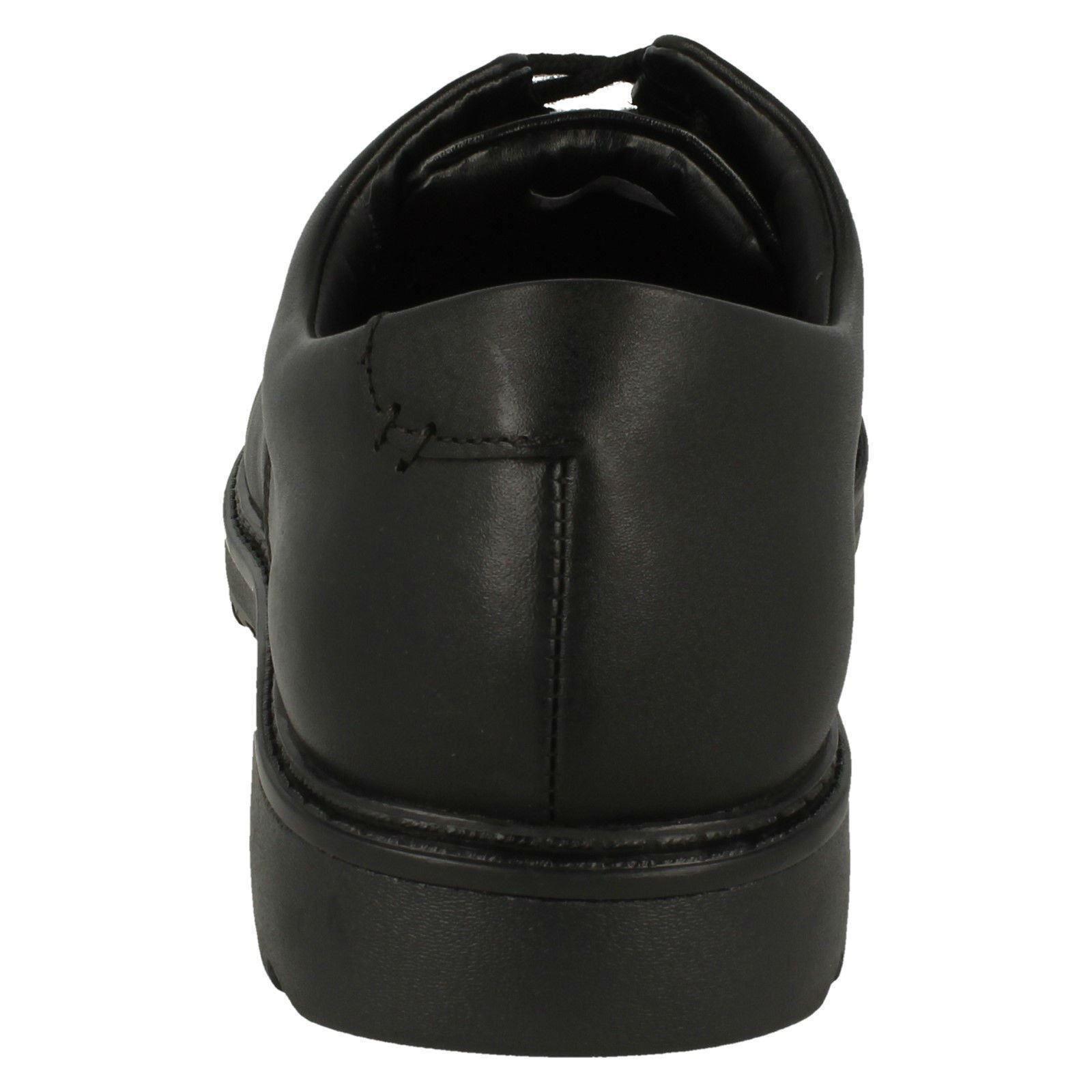 niño formales Clarks cordones Zapatos Clarks negros 'asher de con Grove' YSqE6w