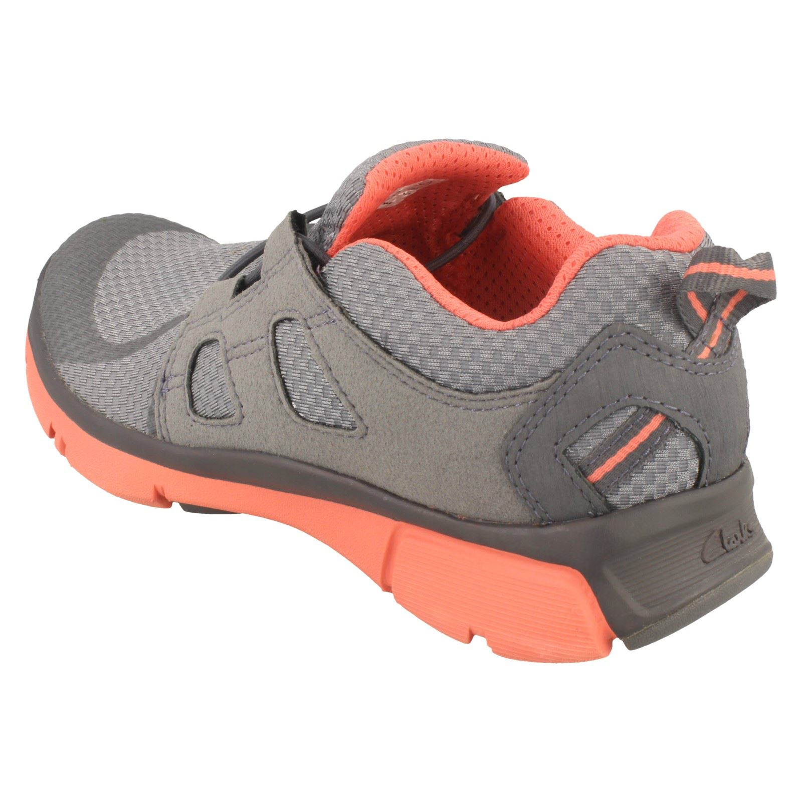 pour Trace Grey femmes Baskets Active Clarks Luminate Wear Un4TxA