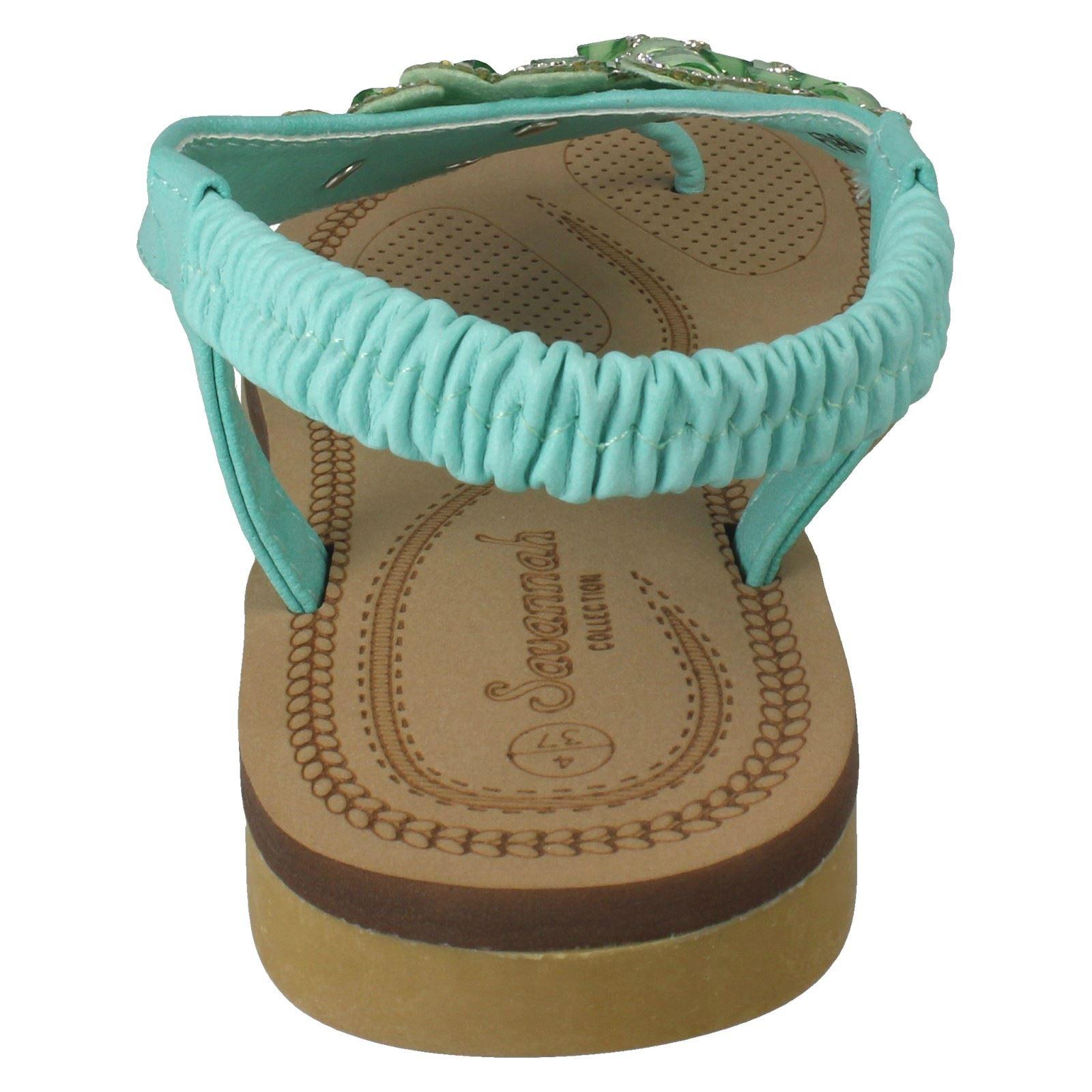 Ladies-Savannah-Low-Wedge-Sandals