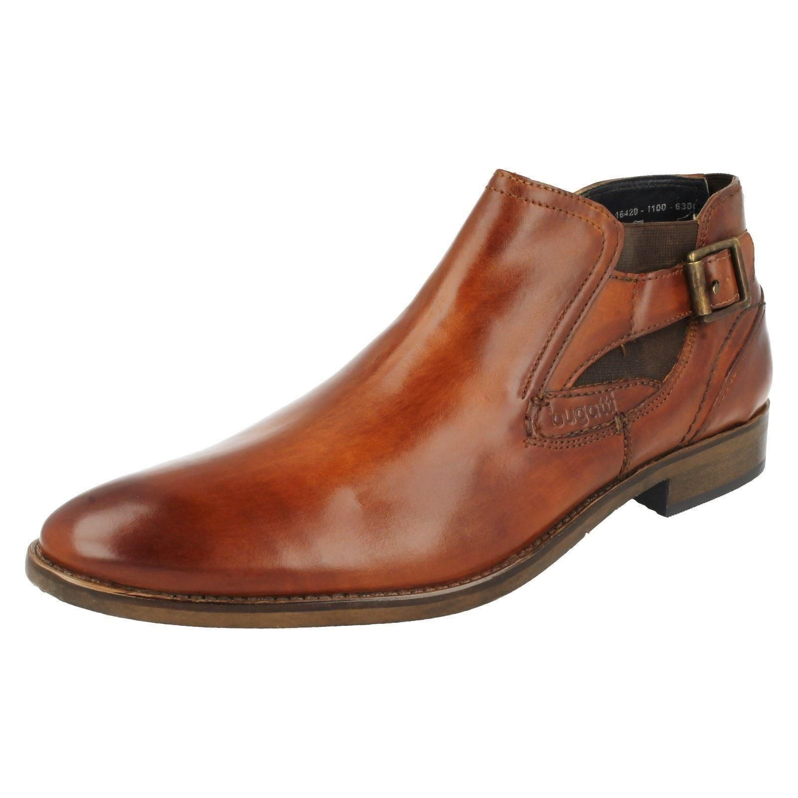 156806dd1b41d3 Mens Bugatti Smart Ankle BOOTS 16420 UK 10 Cognac Standard. About this  product. Picture 1 of 10  Picture 2 of 10 ...