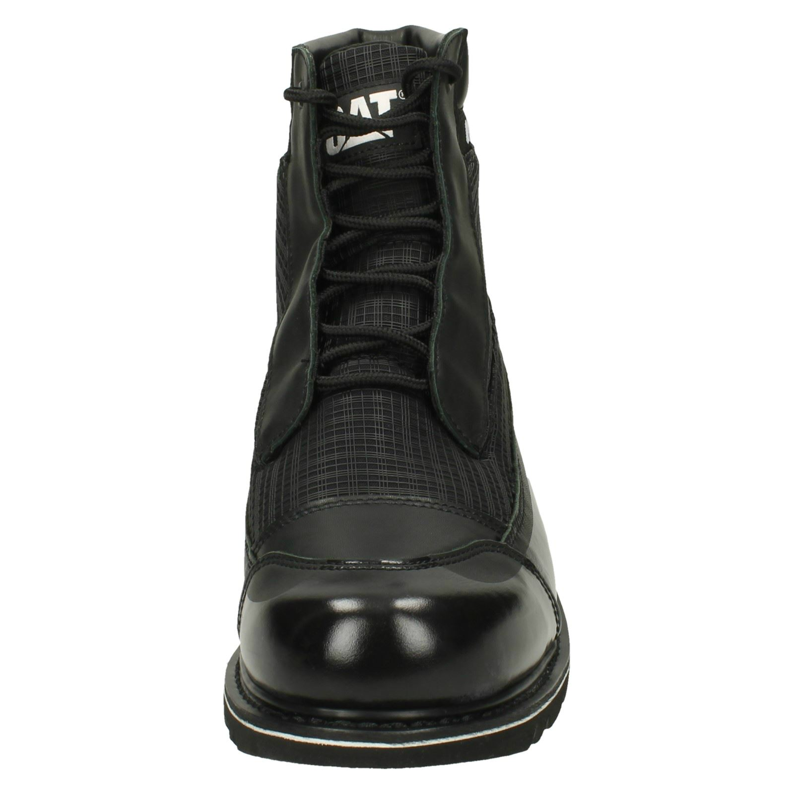 Mens CAT Casual Lace-Up Ankle Boots Weldon