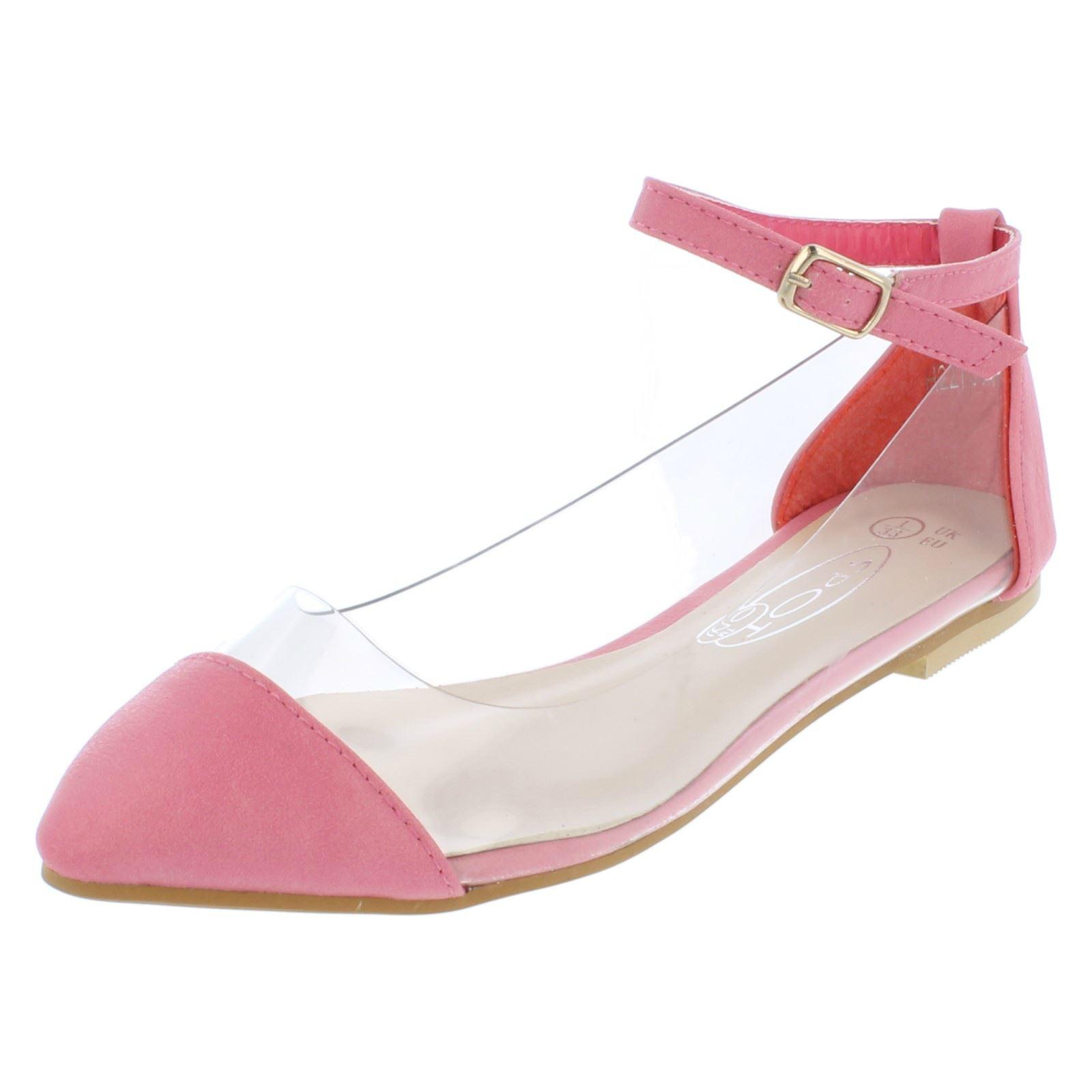 Girls Spot On Flat Sandal /'Ankle Strap/'
