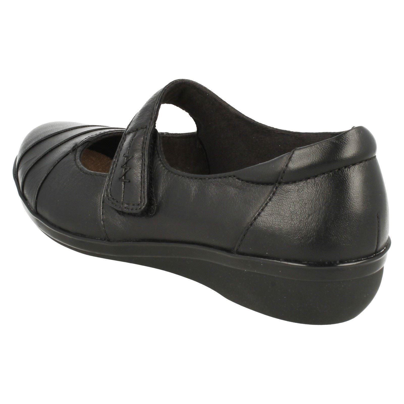 Zapatos De Cuero Damas Clarks Cojín & Suave Hook & Cojín Loop Inteligente - 'everlay Kennon' 81d9f9